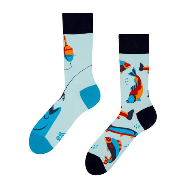 Good Mood ponožky Ryby - veľkosť 35-38