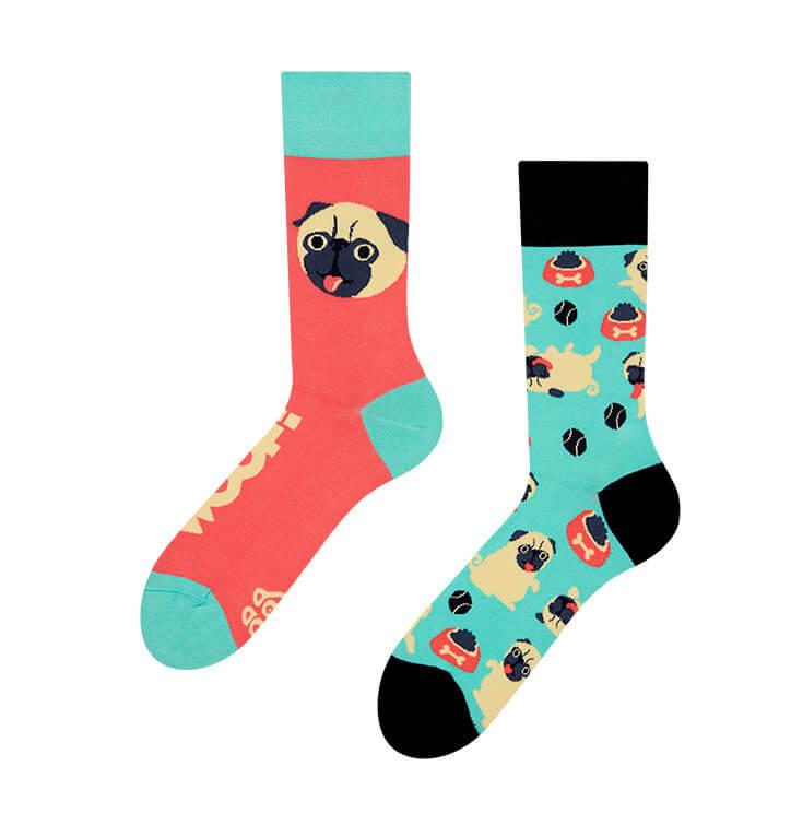 Good Mood ponožky Mopslík - veľkosť 35-38