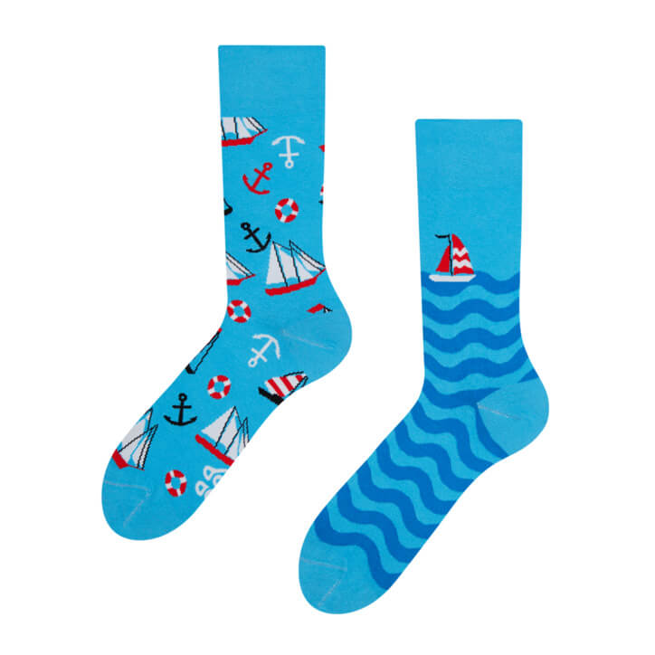 Good Mood ponožky Plachtenie - veľkosť 35-38