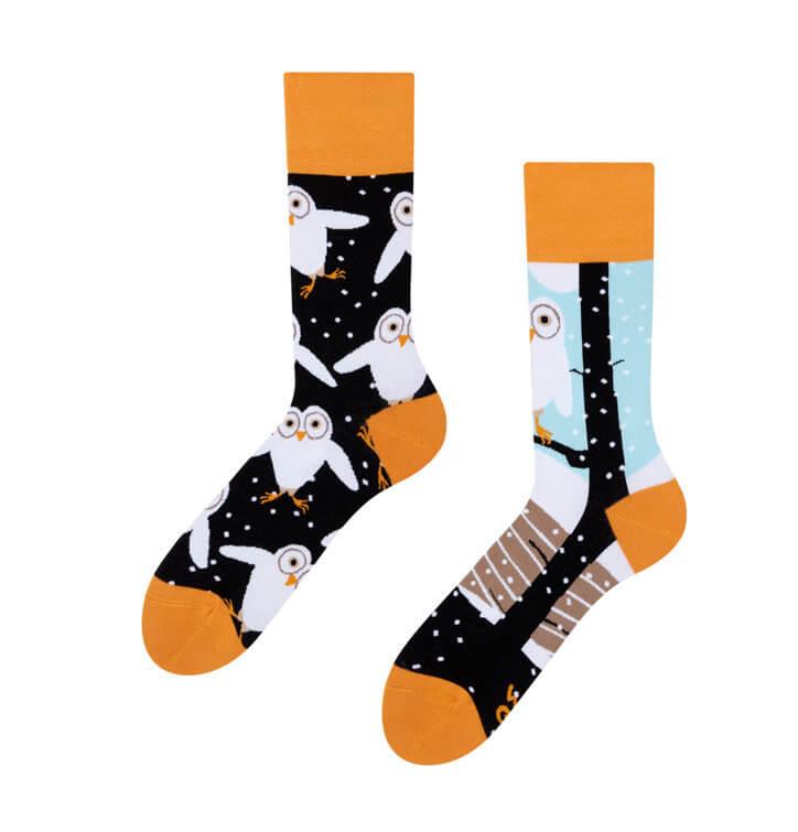 Good Mood ponožky Sovy - veľkosť 35-38