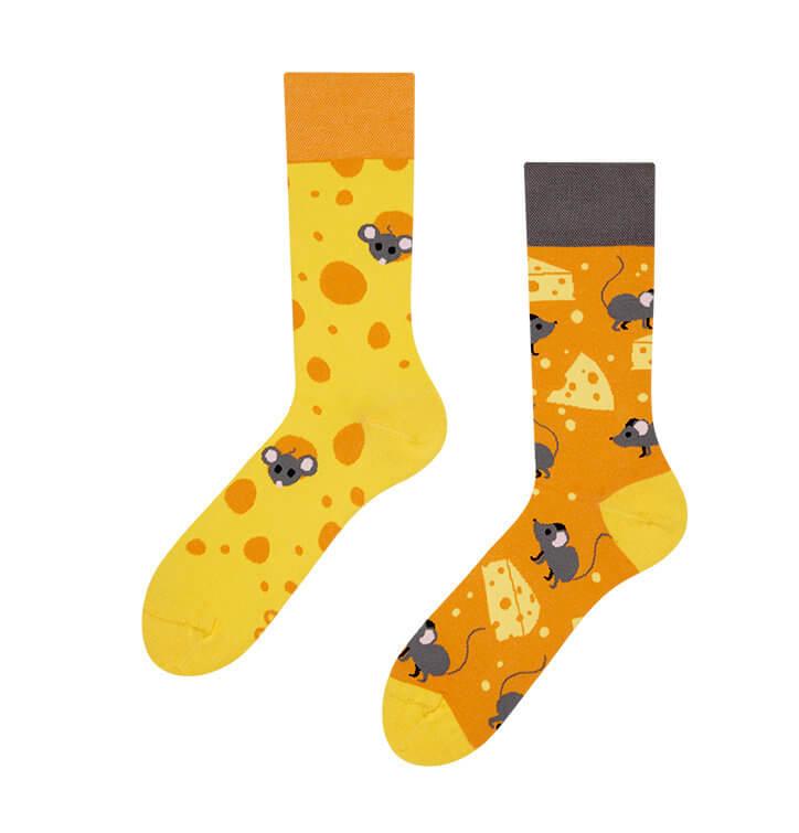 Good Mood ponožky Syr - veľkosť 35-38