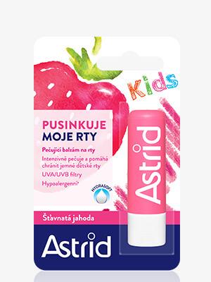 Astrid Balzam na pery Šťavnatá jahoda pre deti
