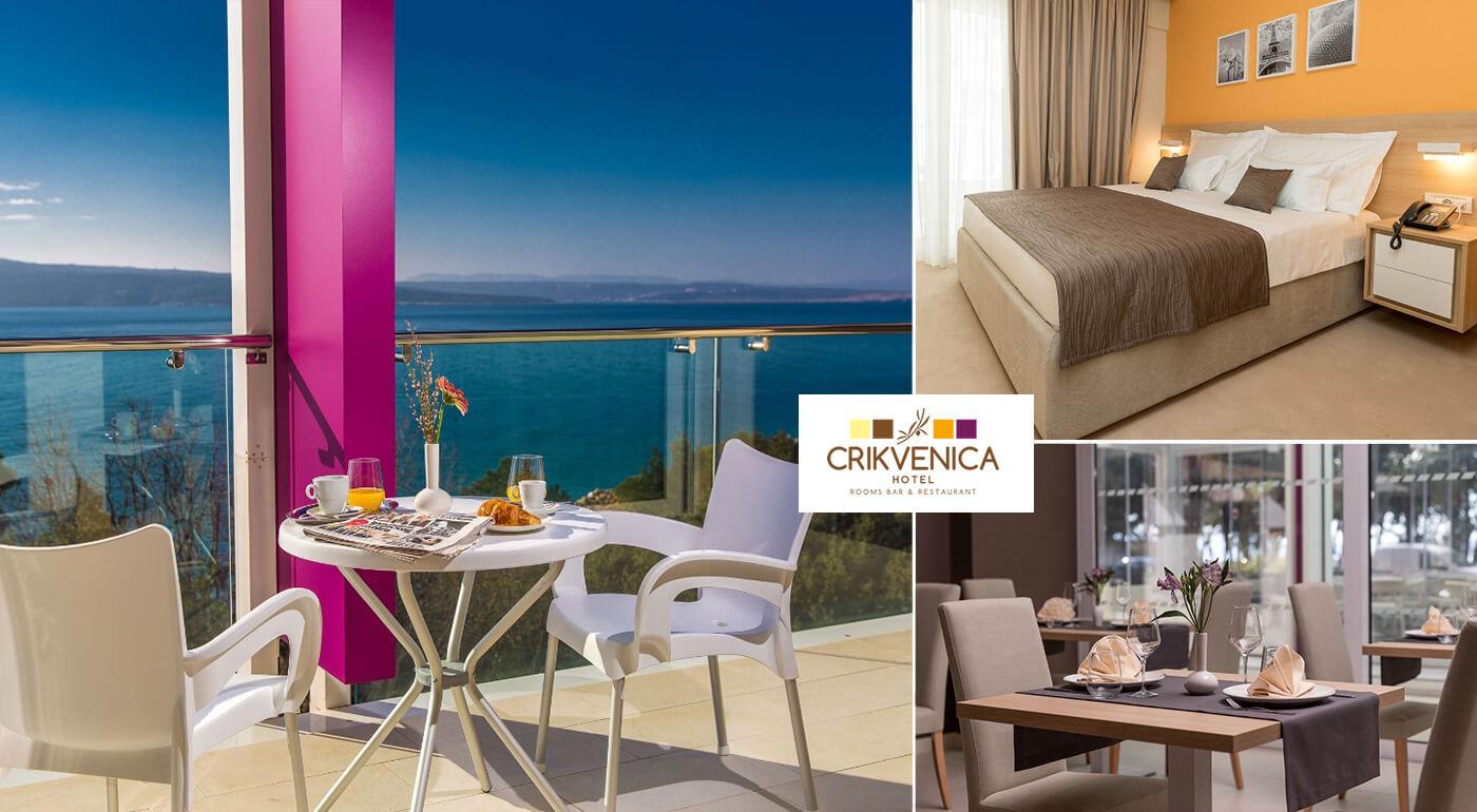 Chorvátsko: Letná dovolenka v Hoteli Crikvenica**** blízko pláže aj s raňajkami
