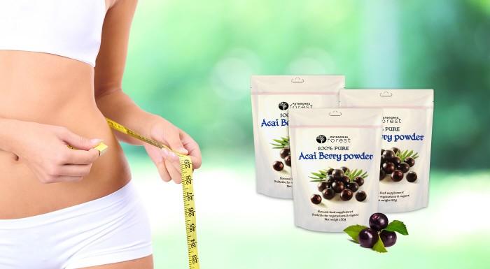 100% prášok Acai berry - najsilnejší antioxidant