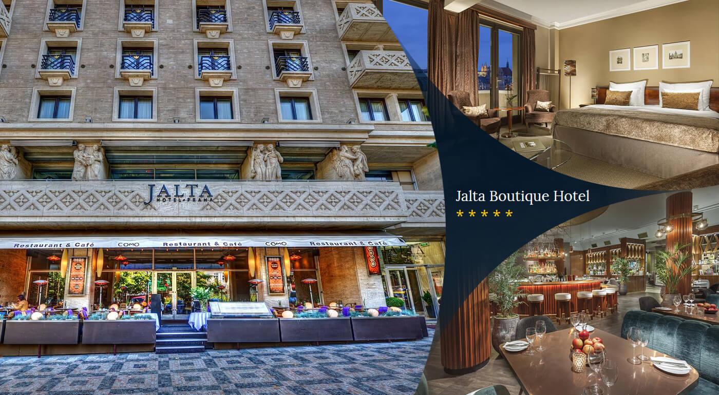 Praha: Luxusný pobyt v Jalta Boutique Hoteli****+ na Václavskom námestí