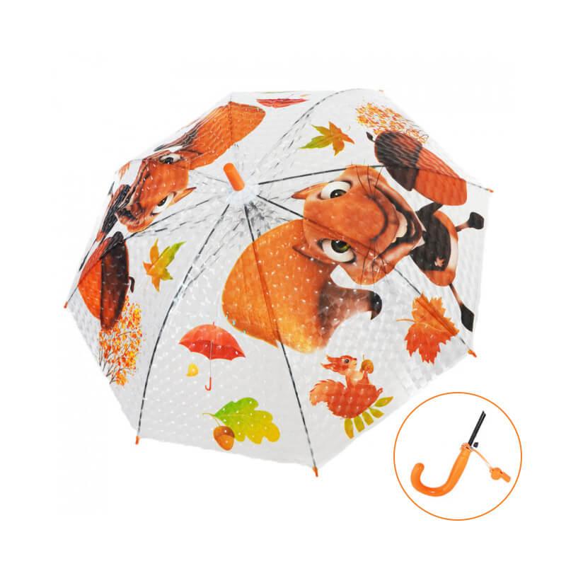 Detský dáždnik s píšťalkou - Veverička