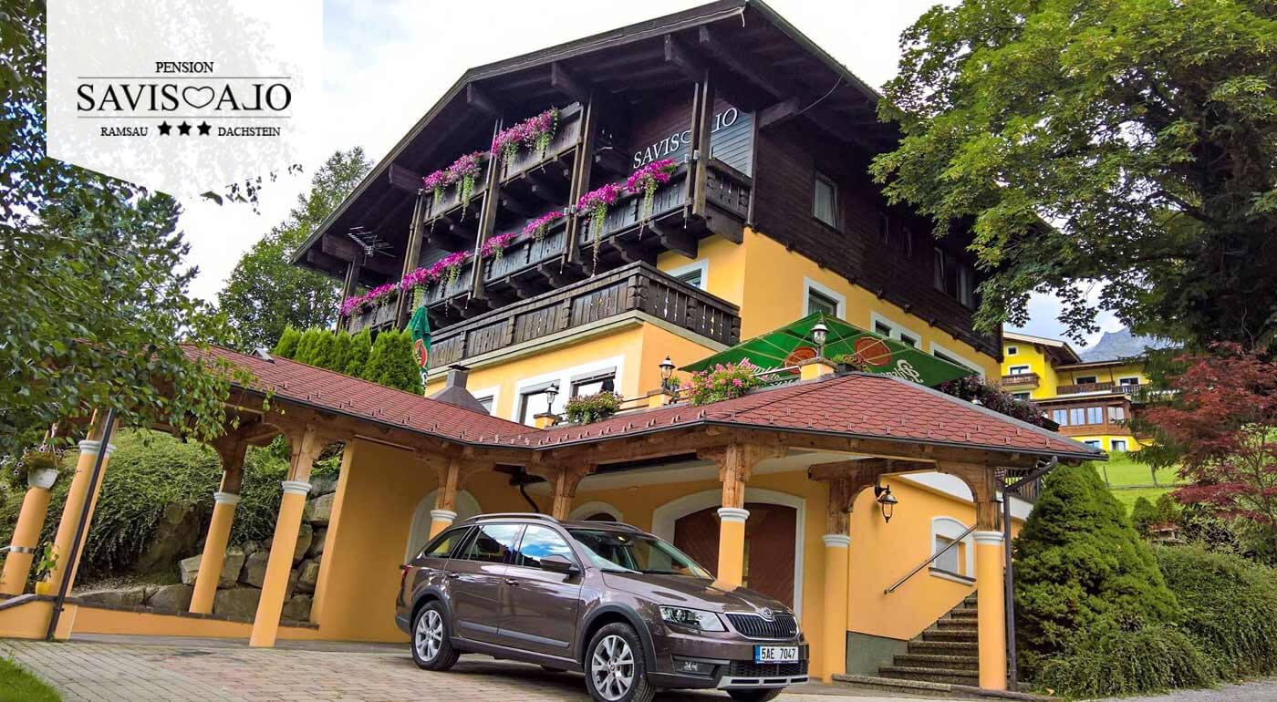 Rakúske Alpy: Aktívna dovolenka v českom penzióne Savisalo*** s raňajkami a zľavovou kartou Sommercard na lanovky a kúpaliská