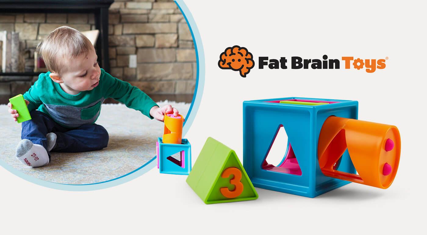 Vzdelávacia kocka Smarty Cube pre deti od 2 rokov