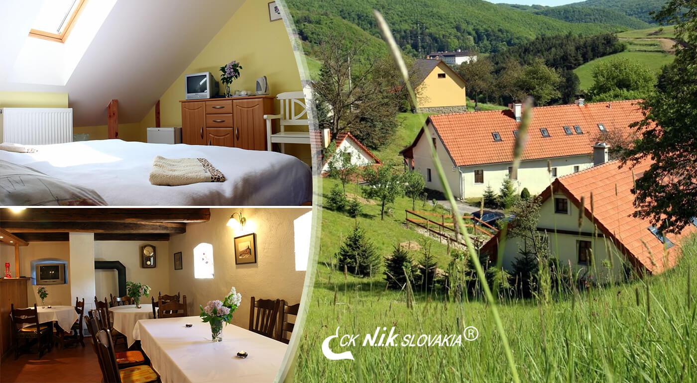 Banská Štiavnica: Oddychová dovolenka v Penzióne Kremenisko s fľašou vína a prekvapením