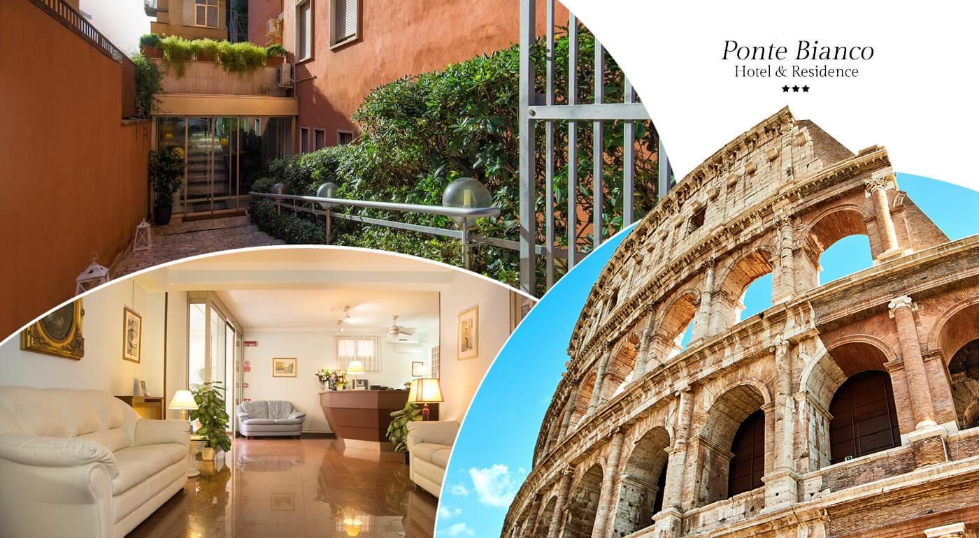 Rím: 3 čarovné dni v talianskej metropole s ubytovaním v Hoteli Ponte Bianco & Residence***