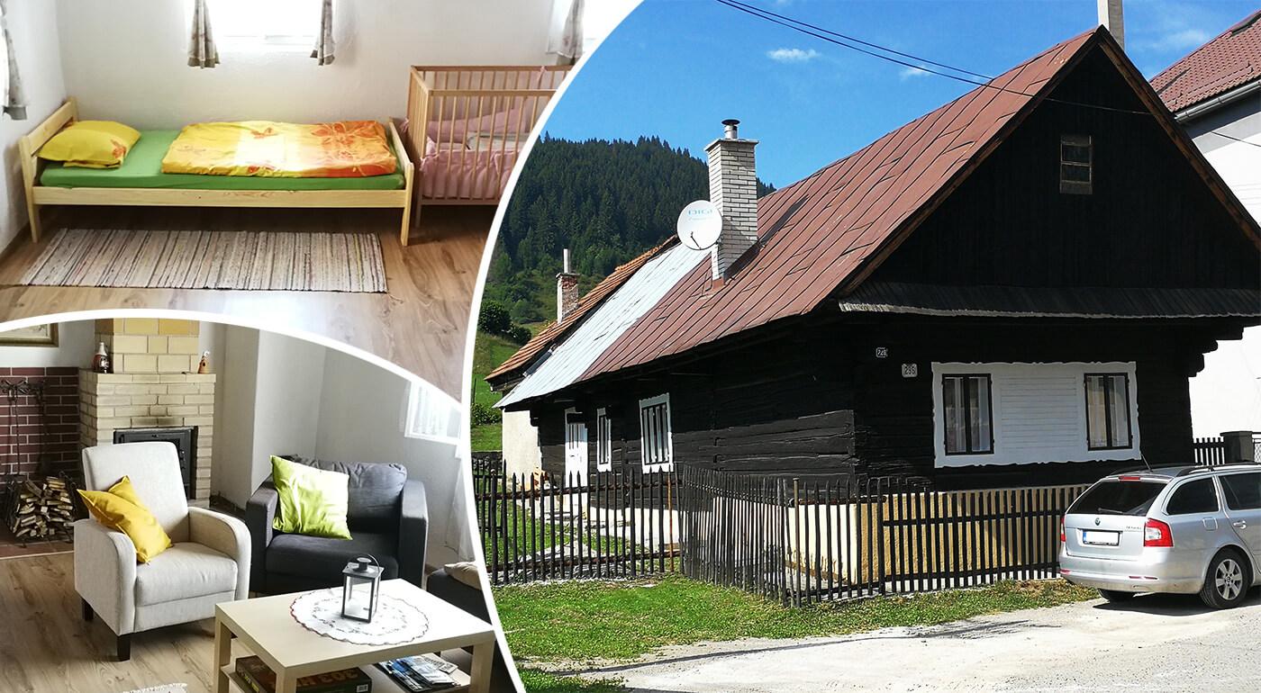 Nízke Tatry: Dovolenka s útulným ubytovaním pre 6-7 osôb uprostred liptovskej prírody