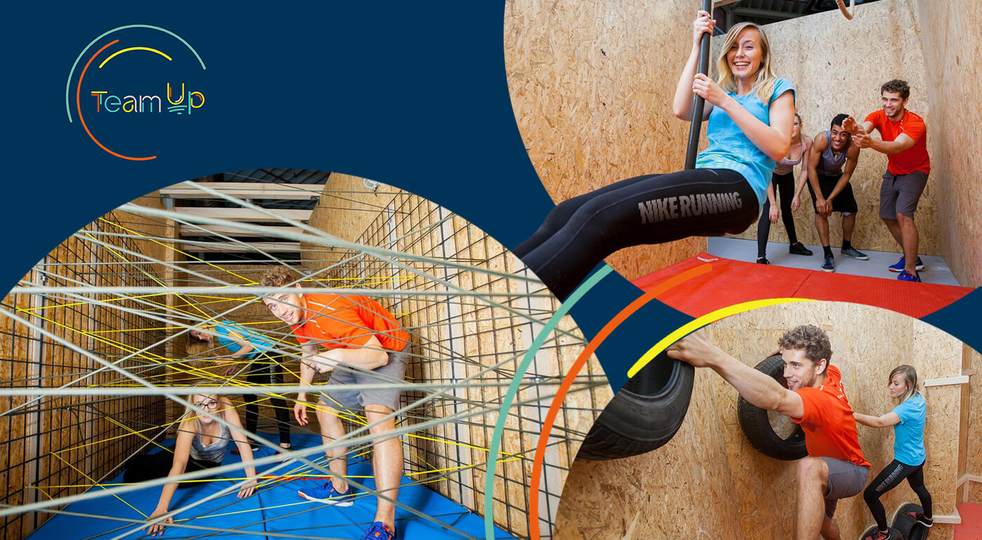 Zábavný park Team Up v štýle Pevnosť Boyard - tip na firemný teambuilding alebo víkendový program s deťmi