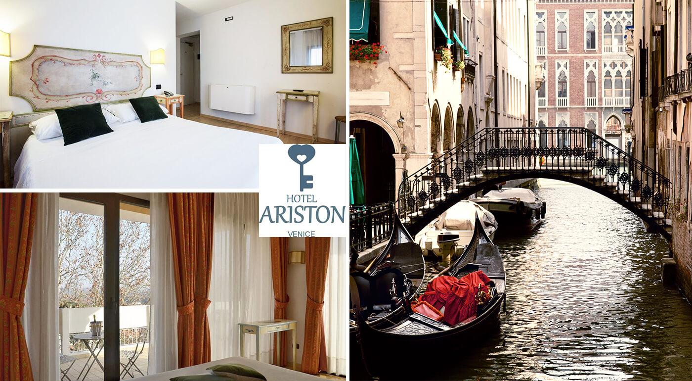 Romantické Benátky počas 3 dní v Hoteli Ariston***
