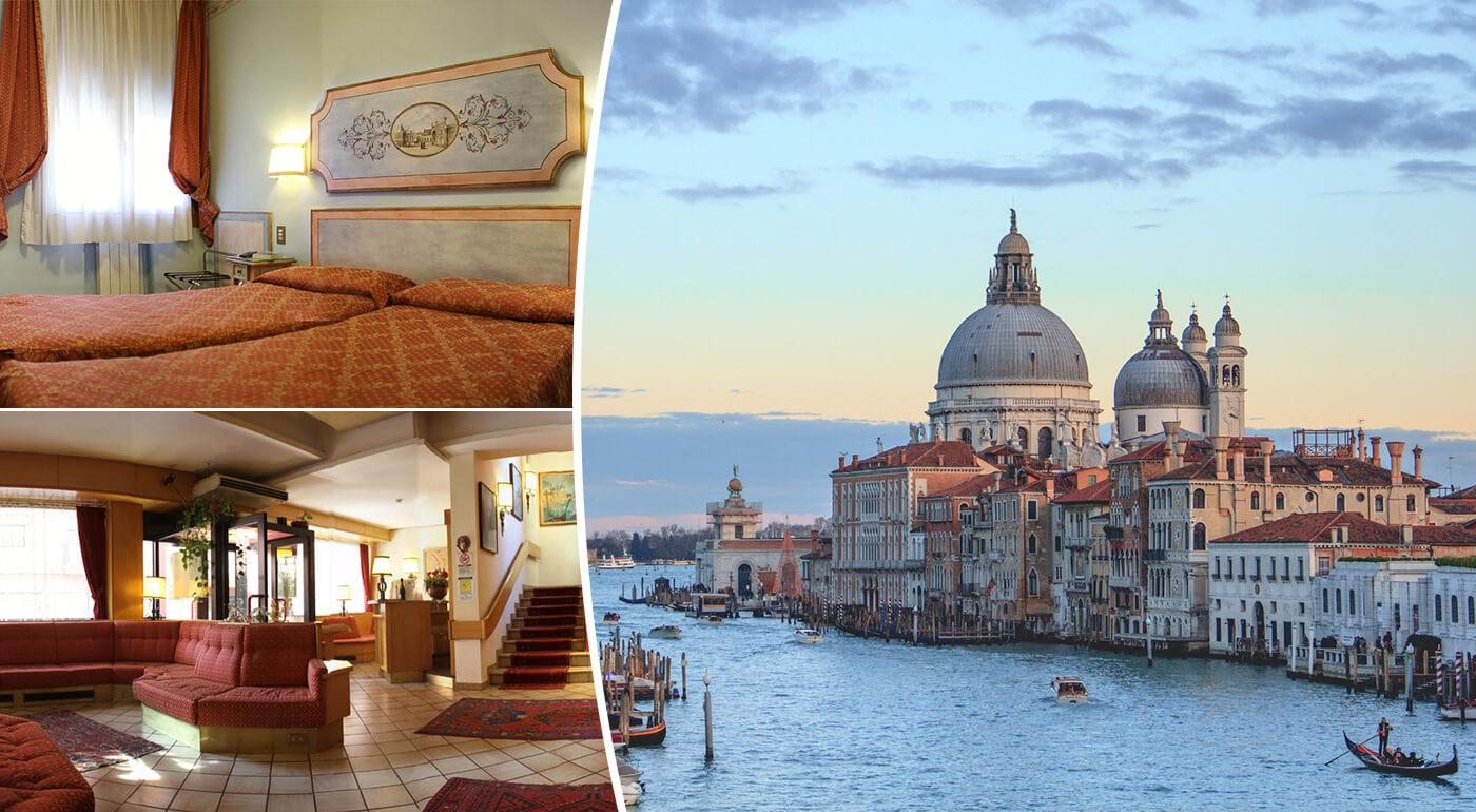 Benátky na 3 dni s raňajkami v Hoteli Piave***