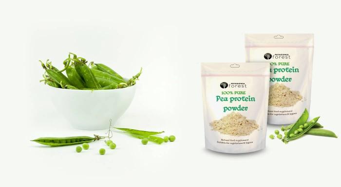 100% čistý hrachový proteín pre podporu zdravia