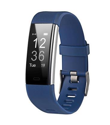 Inteligentný fitness náramok modrý