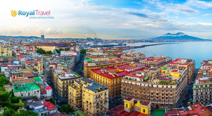 Neviete kam na dovolenku? Zvoľte Kampániu! Navštívte nádherný Neapol, starobylé Pompeje, rajskú záhradu na ostrove Campi a ničivú sopku Vezuv. To všetko s komfortnou leteckou dopravou!