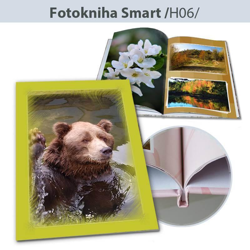 Fotokniha Smart formát A5 na výšku - H06, 80 strán, pevná knižná väzba