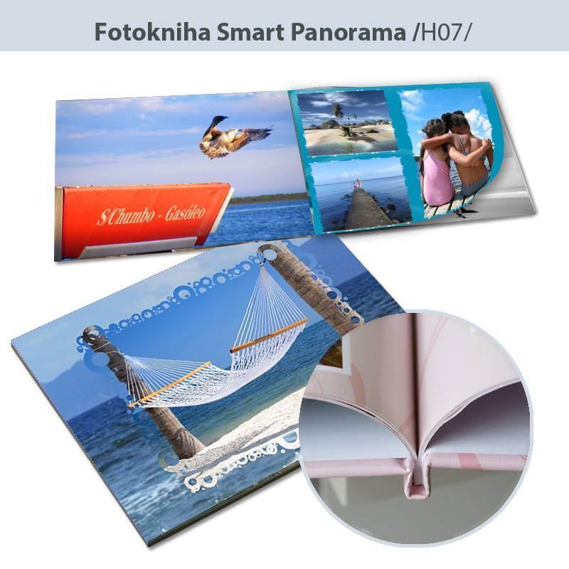 Fotokniha Smart formát A5 na šírku - H07, 80 strán, pevná knižná väzba