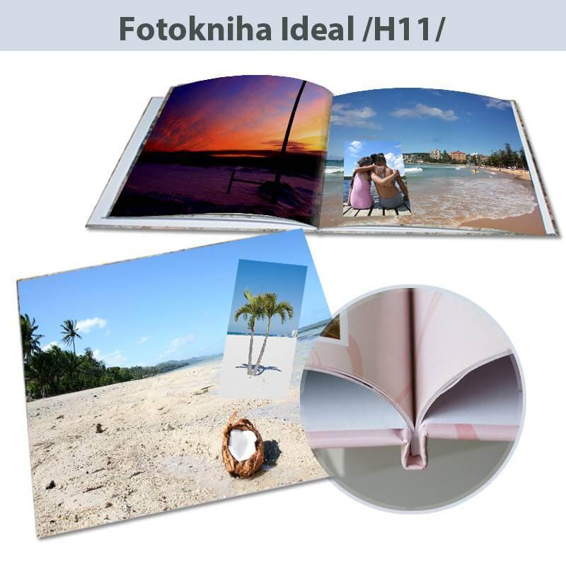 Fotokniha Ideal rozmery 20x20 cm - H11, 80 strán, pevná knižná väzba