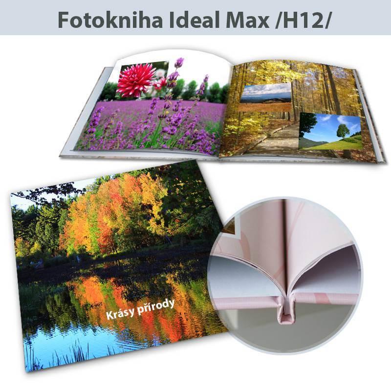 Fotokniha Ideal Max rozmery 30x30 cm - H12, 104 strán, pevná knižná väzba