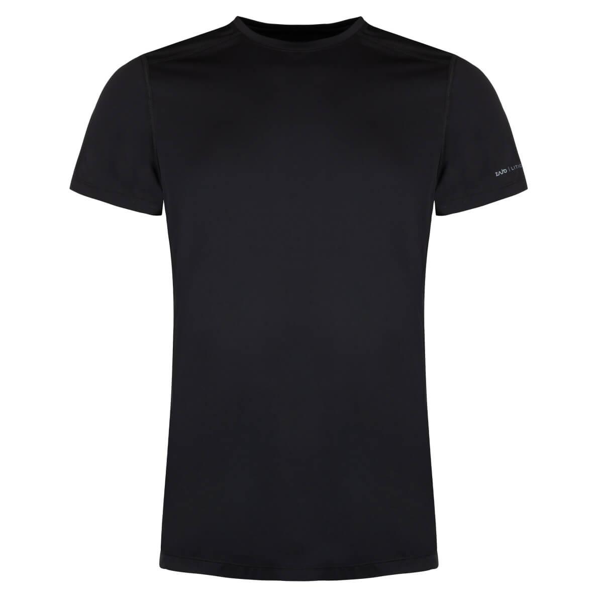 ZAJO Litio T-shirt SS Black pánske tričko - veľkosť S