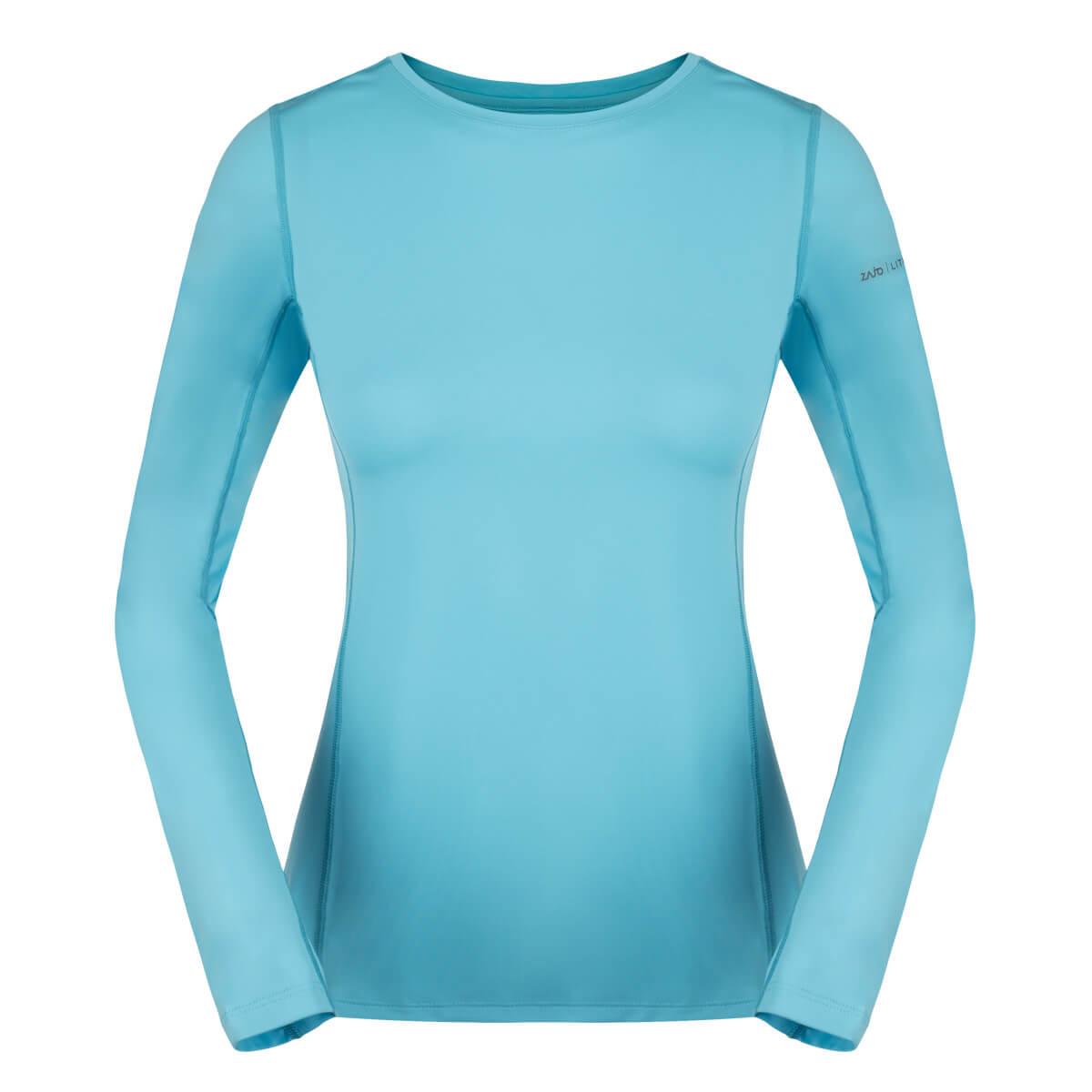 ZAJO Litio T-shirt LS Bluefish dámske tričko - veľkosť XS