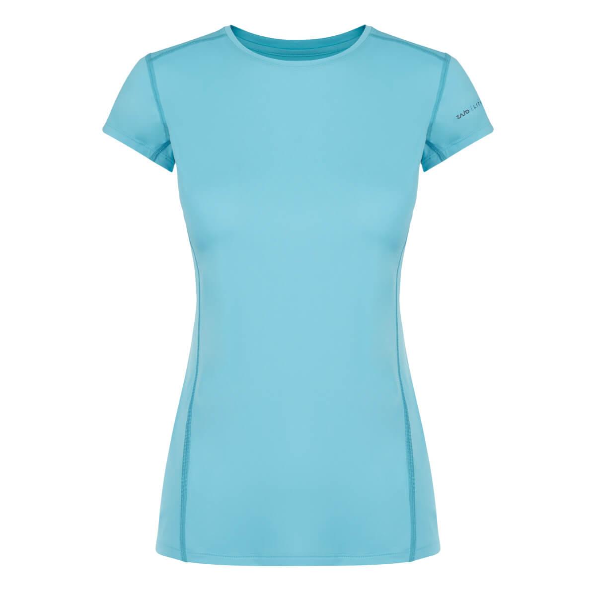ZAJO Litio W T-shirt SS Bluefish dámske tričko - veľkosť XS
