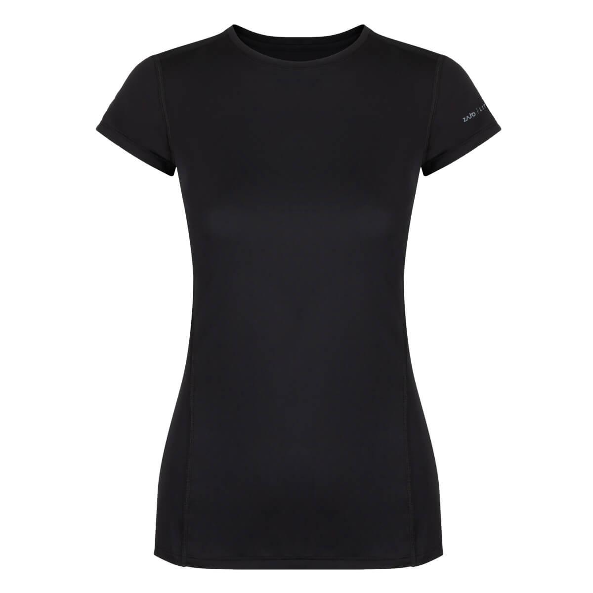 ZAJO Litio W T-shirt SS Black dámske tričko - veľkosť S