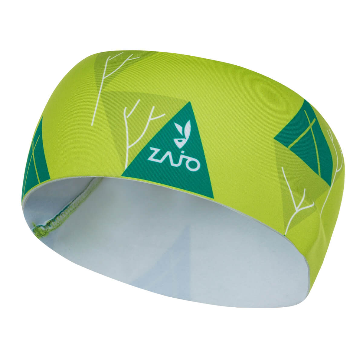 ZAJO Headband čelenka Acid Lime Trees
