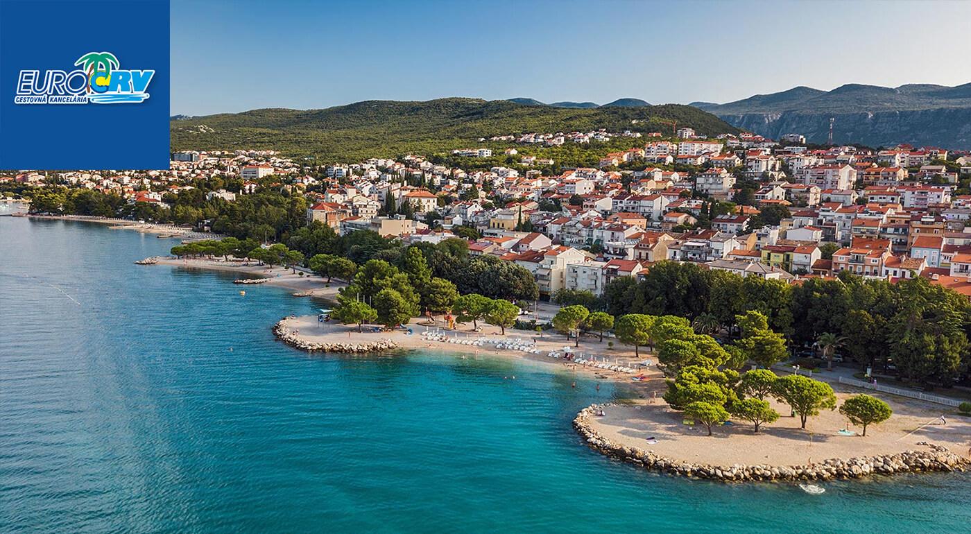 ULTRA LAST MINUTE Chorvátsko: Dovolenka vo Vile Skoko** v Crikvenici iba 100 m od pláže s polpenziou, autobusovou alebo vlastnou dopravou