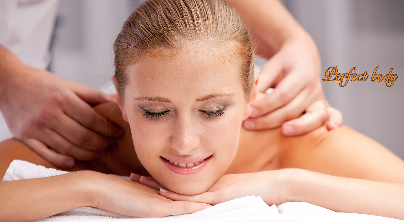 Antistresová masáž pre komplexné uvoľnenie tela v salóne Perfect Body