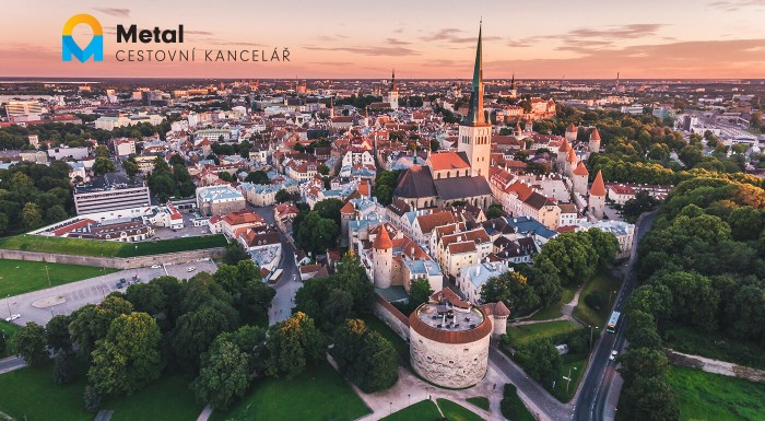 Pobaltie: Vilnius, Riga, Tallinn a Helsinki