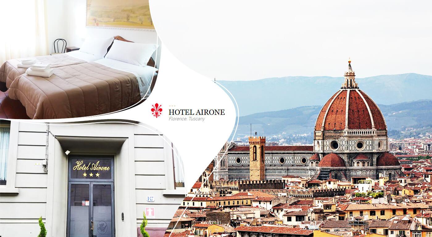Taliansko - Florencia: 3 dni oddychu s ubytovaním v Hoteli Airone*** s raňajkami