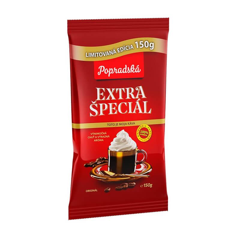 Popradská káva Extra Špeciál mletá - limitovaná edícia 150 g