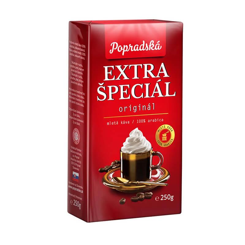Popradská káva Extra Špeciál mletá 250 g