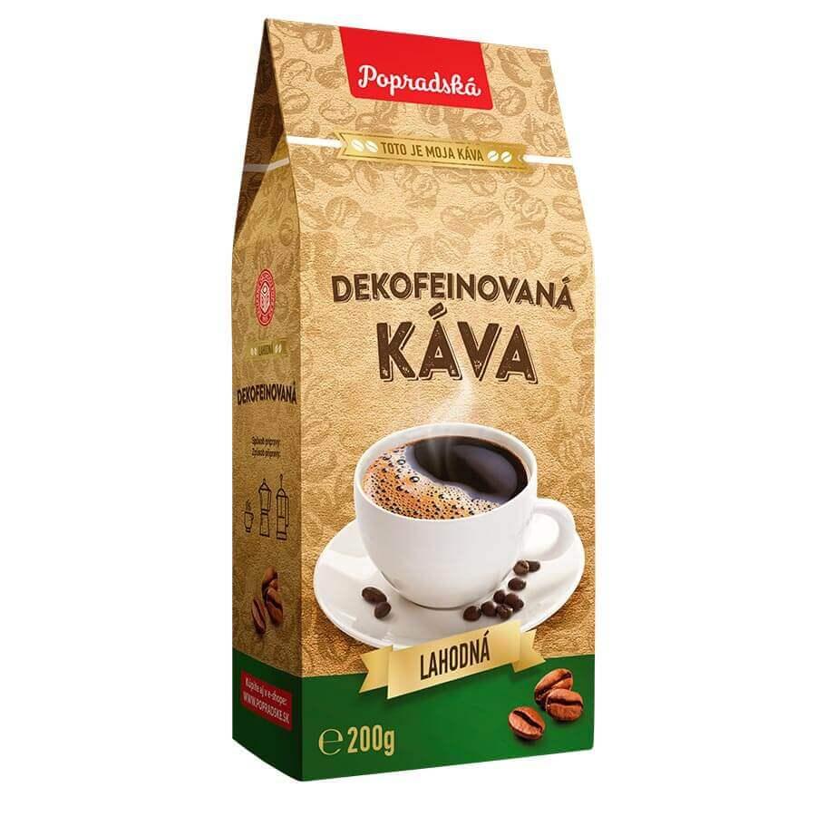 Popradská káva dekofeinovaná mletá 200 g