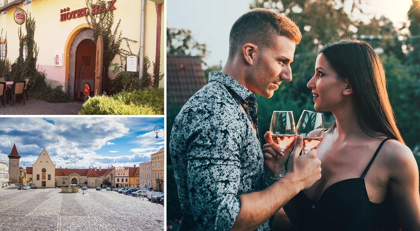 Hotel Bax*** Znojmo: Romantická dovolenka vo vinárskom kraji s polpenziou a uvítacím drinkom