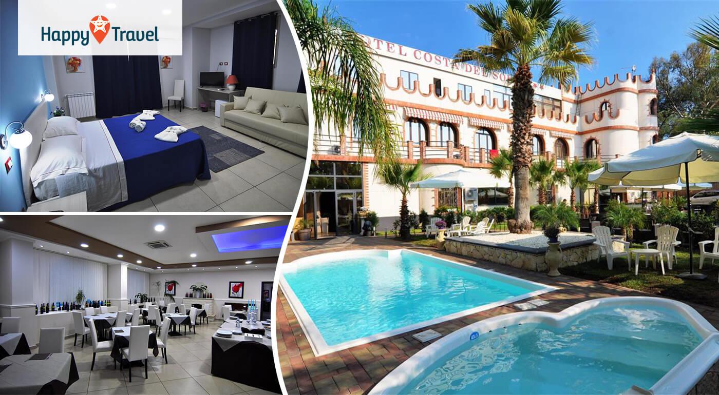 Sicília - Taliansko: Pohodových 8 dní s polpenziou a letenkou v cene v Hoteli Costa del Sole***