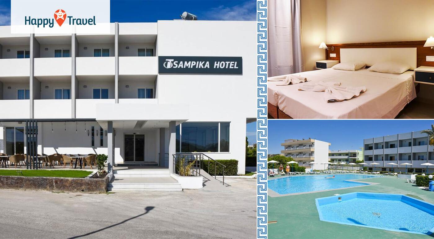 Grécko - Rhodos: 8 dní v znamení slnka a relaxu s ubytovaním v Hoteli Tsampika*** a s leteckou dopravou v cene