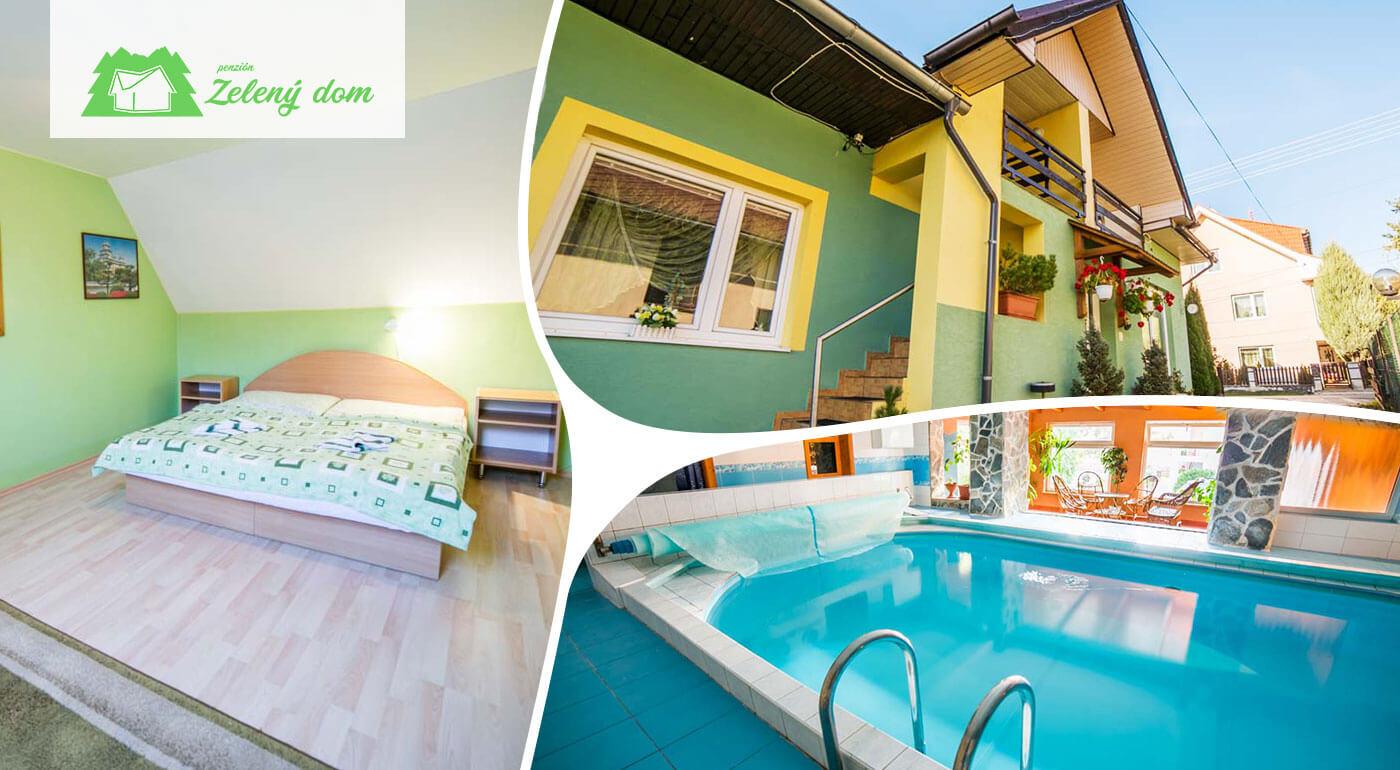 Pobyt na 3 až 6 dní pre dvoch v Penzióne Zelený dom na Orave aj so zľavou do Aquaparku Oravice
