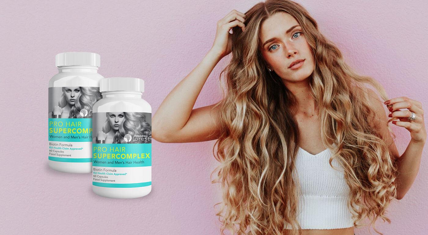 PRO Hair Supercomplex pre zdravé a silné vlasy