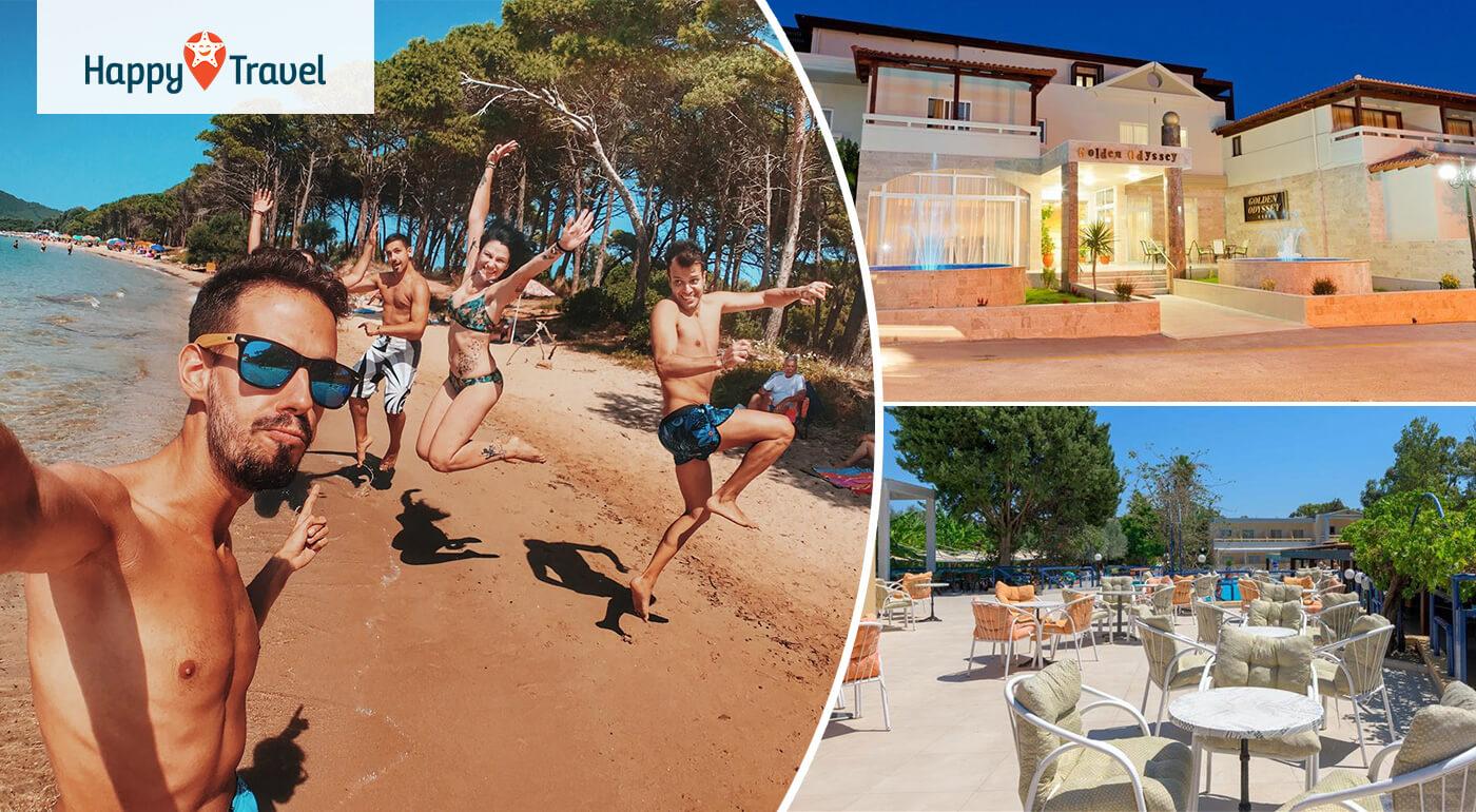 Grécko - Rhodos: 8-dňová dovolenka pri mori v hoteli Golden Odyssey**** letecky z Bratislavy