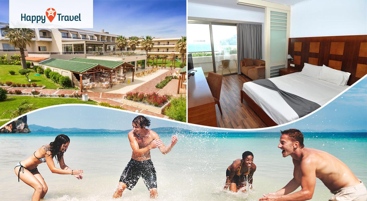 Grécko - Rhodos: All inclusive dovolenka v Lutania Beach Hoteli**** letecky z Bratislavy