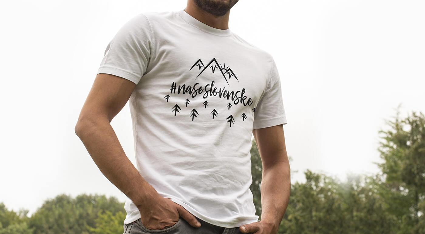 Pánske tričká so slovenskými vzormi