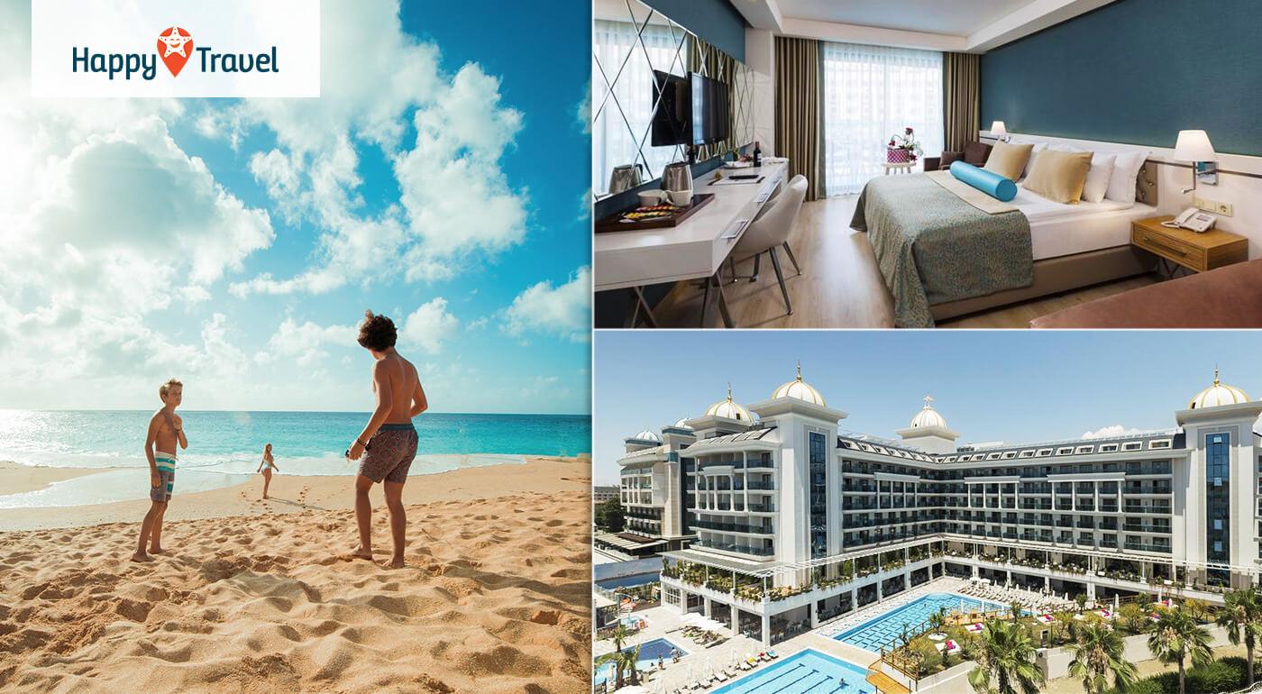 Luxusná dovolenka Side La Grande Resort & SPA***** Turecko na 8,12 alebo 15 dní letecky z Bratislavy a Košíc