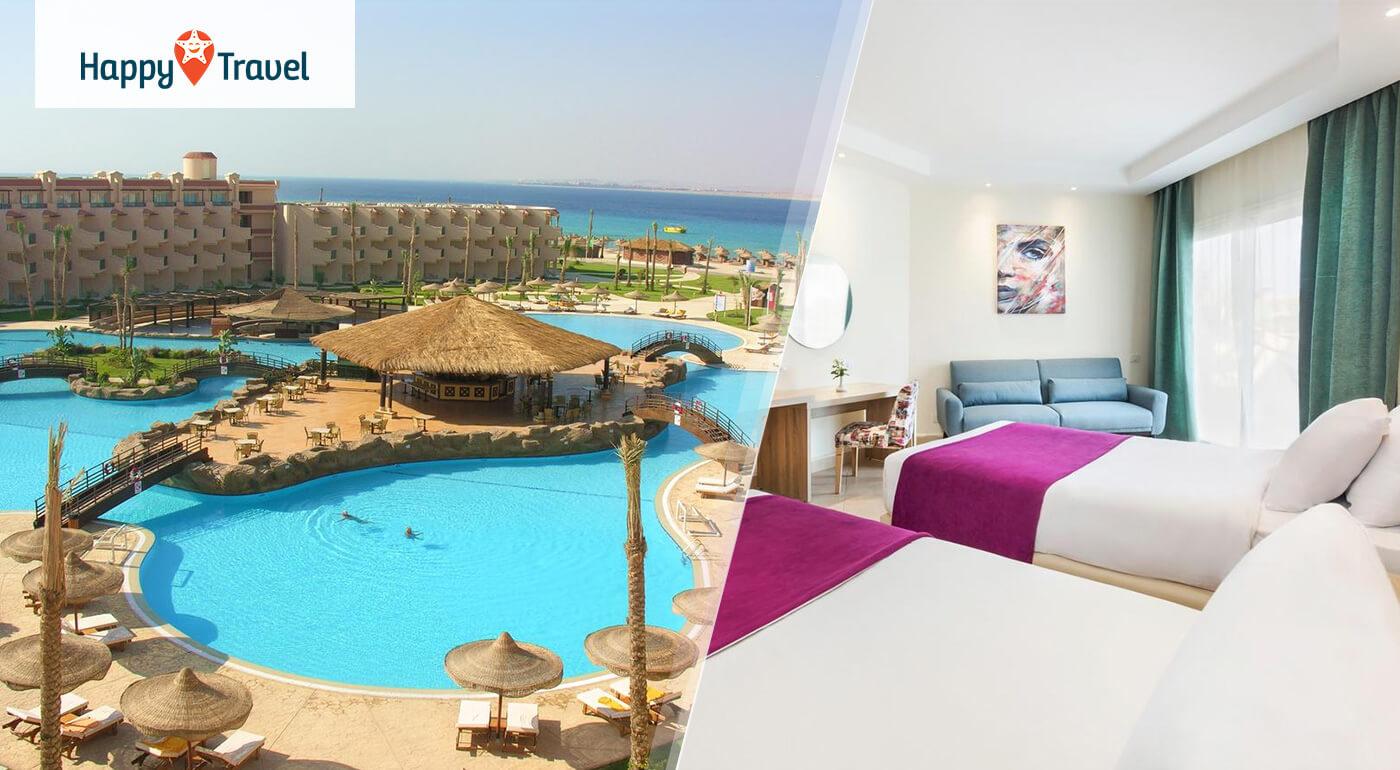 Egypt - Hurgada: Letná dovolenka v luxusnom hoteli Pyramisa Sahl Hasheesh***** letecky z Bratislavy alebo Piešťan