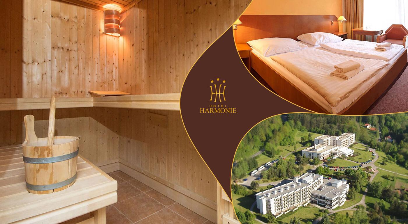 Luhačovice: Dovolenka v Hoteli Harmonie*** s polpenziou a zaujímavým wellness programom
