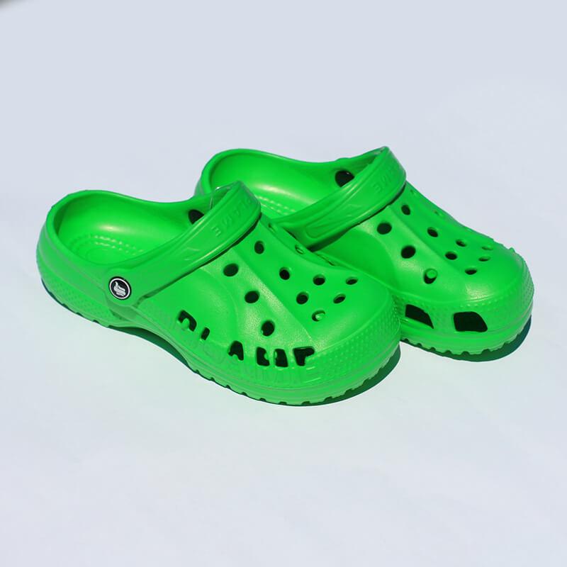 Flameshoes detské kroksy zelené (šľapky) - veľkosť 31