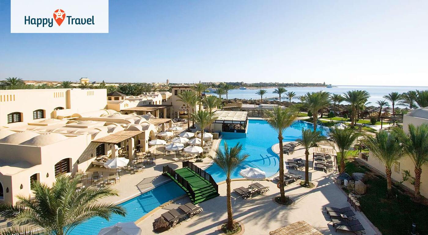 Egypt - Hurgada: Letná dovolenka v luxusnom hoteli Jaz Makadina***** letecky z Bratislavy alebo Piešťan
